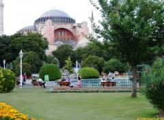 Fonds d'écran Voyages : Asie basilique Sainte-Sophie