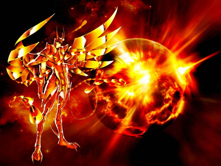 Wallpapers Manga Saint Seiya Phoenix!!!