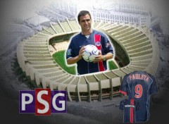 Wallpapers Sports - Leisures Pedro Miguel Pauleta - Paris SG