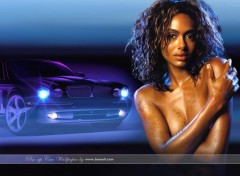 Wallpapers Cars Pin-up Car Wallpaper 2005 by bewall.com