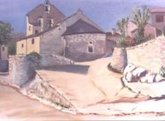 Wallpapers Art - Painting chapelle à Dores