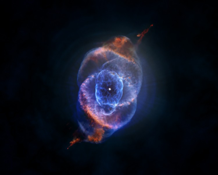 Fonds d'écran Espace Etoiles - Nébuleuses Tesar en supernova