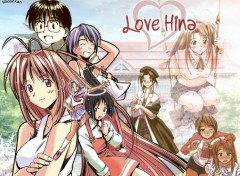Fonds d'écran Manga wallpaper Love hina