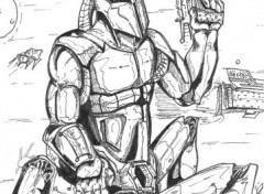 Wallpapers Art - Pencil cyborg