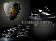 Fonds d'écran Voitures Lamborghini Murcieloago_R-GT!
