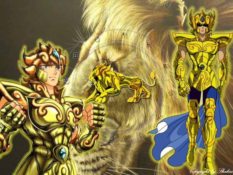 Fonds d'écran Manga Saint Seiya - Les Chevaliers du Zodiaque Chevalier du Lion