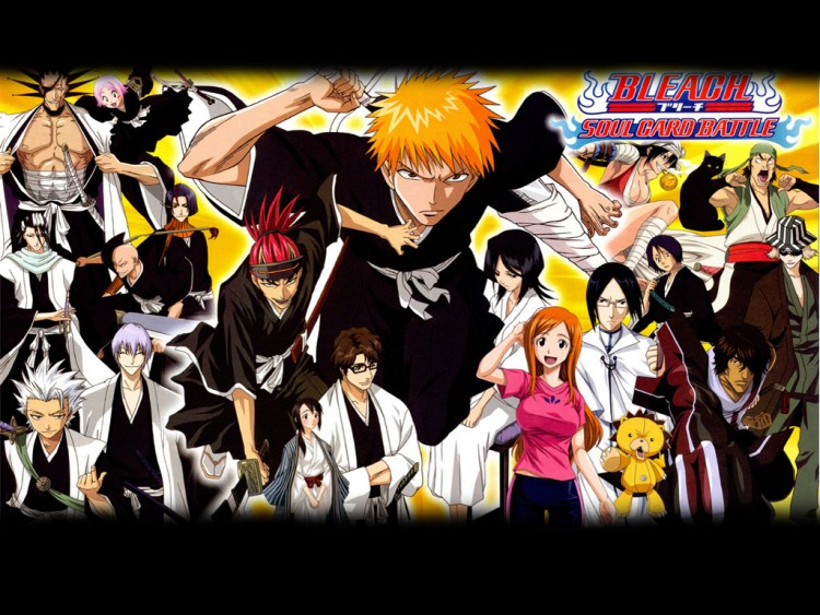 Fonds d 39 cran manga fonds d 39 cran bleach personnages for Photo ecran bleach