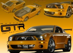 Wallpapers Cars Ford Mustang GT-R