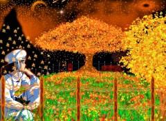 Fonds d'écran Manga Nausicaa.automne