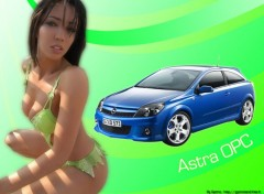 Fonds d'écran Voitures Astra OPC