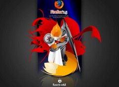 Fonds d'écran Informatique The Firefox Crusade
