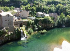 Fonds d'�cran Voyages : Europe Gorges du Tarn