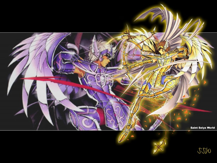 Wallpapers Manga Saint Seiya chevalier du sagittaire