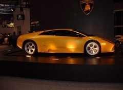 Wallpapers Cars salon de l'auto 2004 lamborghini 3 (slammer)
