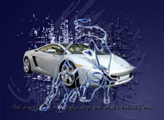 Fonds d'écran Voitures Lamborghini crystalys