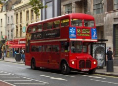 Fonds d'écran Transports divers Red Bus in London