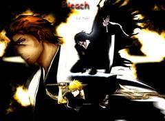 Fonds d'écran Manga ichigo aizen