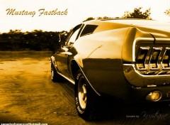 Fonds d'écran Voitures Mustang Fastback