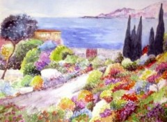 Wallpapers Art - Painting Le Jardin aux mille couleurs