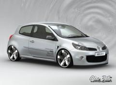 Fonds d'écran Voitures Clio III RS
