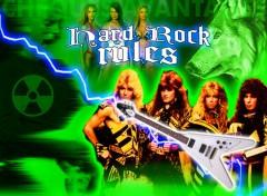 Fonds d'écran Musique Hard power