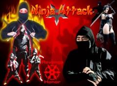 Fonds d'écran Art - Numérique Ninja attack