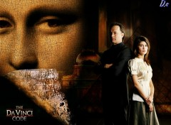 Wallpapers Movies Robert Langdon and Sophie Neveu