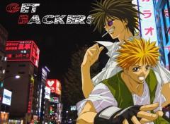 Fonds d'écran Manga ginji et ban
