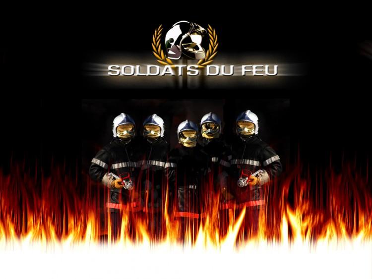 Fonds d'écran Hommes - Evênements Pompiers - Incendies Wallpaper N°130165