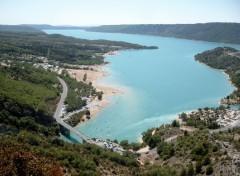 Fonds d'écran Voyages : Europe Lac de Sainte Croix (Var)