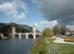 Fonds d'écran Constructions et architecture Pont Valentré de Cahors (Lot)