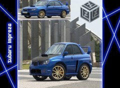 Wallpapers Cars Subaru Impreza Micro Cars