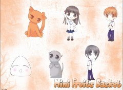 Fonds d'écran Manga Mini Fruits Basket