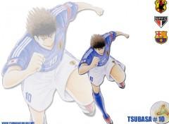 Fonds d'écran Manga tsubasa ou olivier c pareil