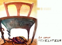 Fonds d'écran Art - Peinture Le coeur Révélateur
