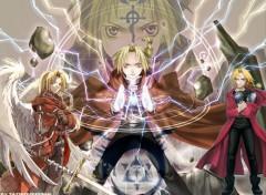 Fonds d'écran Manga full metal alchemist