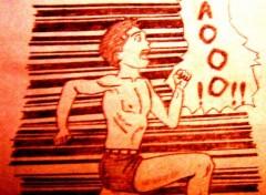 Fonds d'�cran Art - Crayon Hiroshi...