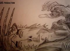 Fonds d'�cran Art - Crayon Wolwerine by nina85