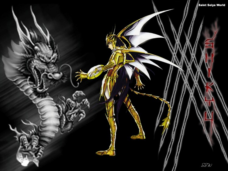 Fonds d'écran Manga Saint Seiya - Les Chevaliers du Zodiaque shiryu