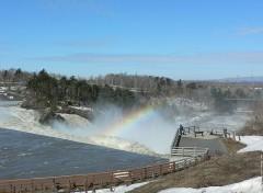 Fonds d'écran Nature Chûtes de la rivière chaudière