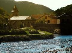 Fonds d'écran Voyages : Europe village des pyrénées