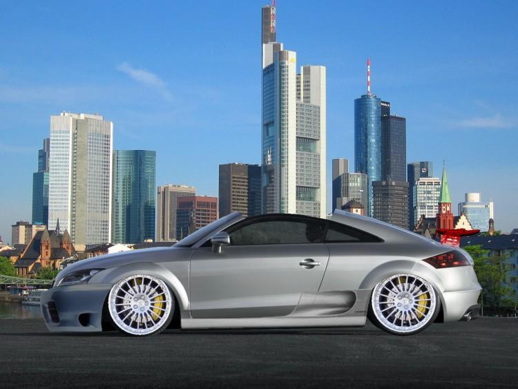 Fonds d'écran Voitures Tuning Nouvelle Audi TT 2007 Façon V-tuning !!!