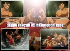 Fonds d'écran Manga Quel combat !!!
