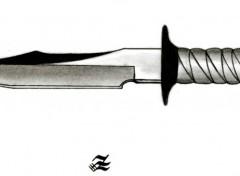 Fonds d'écran Art - Crayon poignard