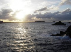 Wallpapers Nature roscoff by night