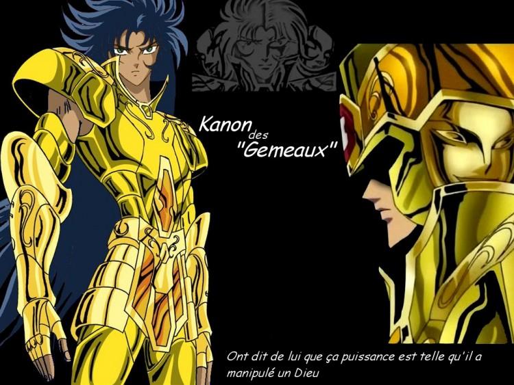 Fonds d'écran Manga Saint Seiya - Les Chevaliers du Zodiaque kanon des gemeaux