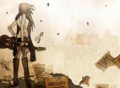 Fonds d'écran Manga Last Living Souls