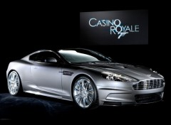 Fonds d'écran Voitures  DB9 James Bond