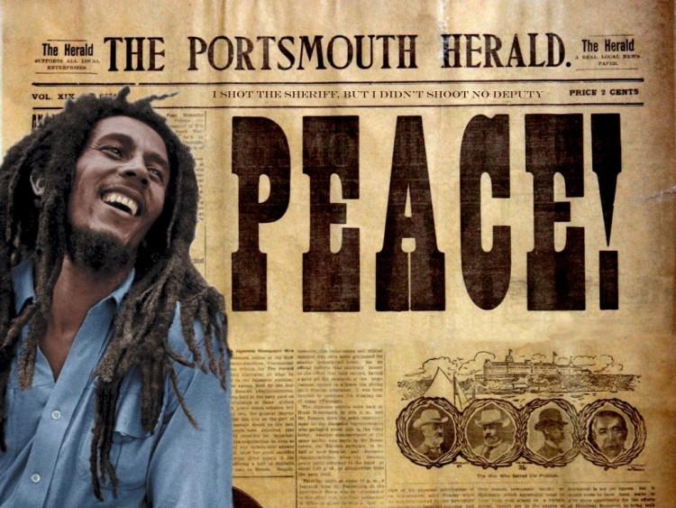Fonds d'écran Musique Bob Marley I shot the Sheriff