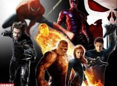 Fonds d'écran Cinéma Marvel Héros